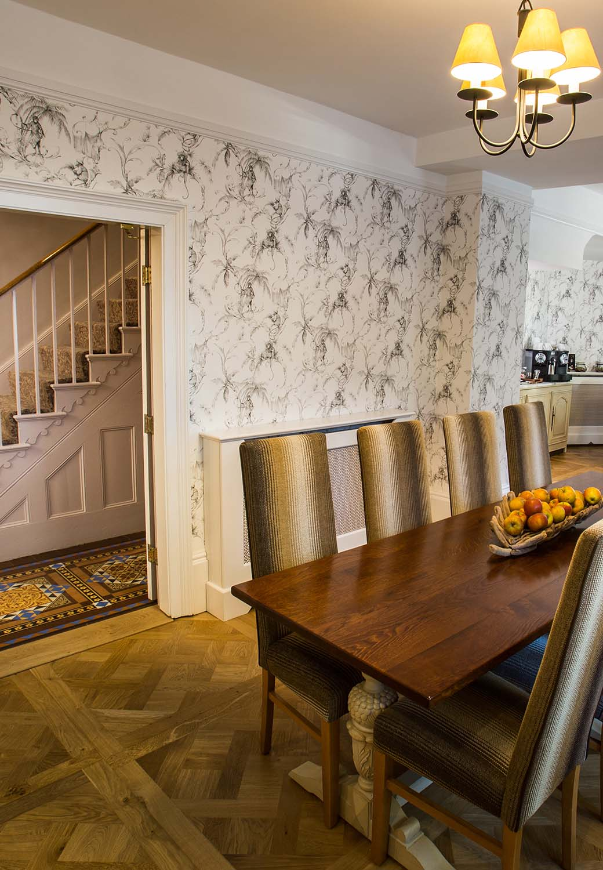 The Garden room at Arden House in Stratford-upon-Avon
